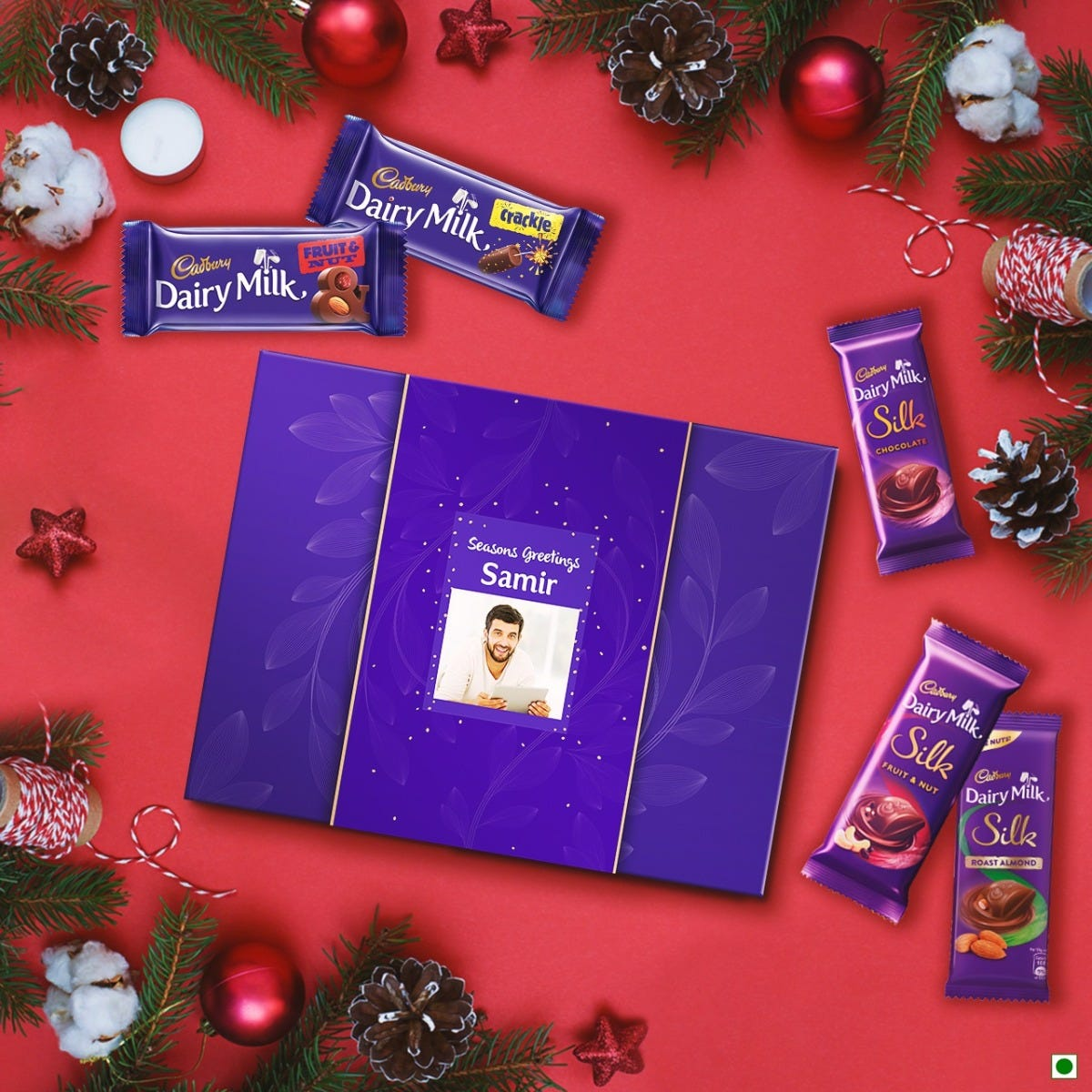 Buy Personalised Christmas Chocolate Gift Boxes for Your Loved Ones