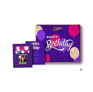 Personalised Premium Tin Birthday Box