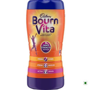 Bournvita 500g Health Drink Jar - Pack of 2