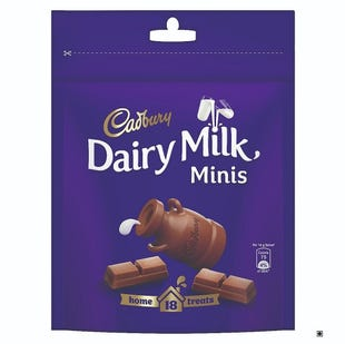 Dairy Milk Home Treats with 18 Cadbury Dairy Milk Chocolates