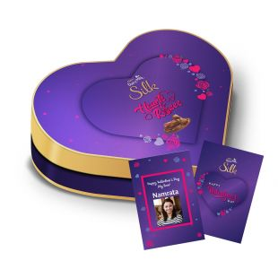 Valentines Heart Shaped Gift Box