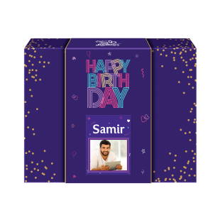 Happy Birthday Personalised Neon Gift Pack