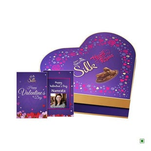 Heart Shaped Gift Box With Video Personalisation