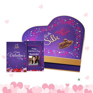 Valentine's Heart Shaped Gift Box
