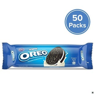 Oreo Vanilla Crème Biscuit, 120g - Pack of 50