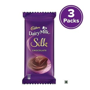 Dairy Milk Silk Plain, 150g - Pack of 3