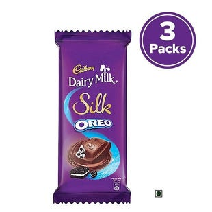 Dairy Milk Silk Oreo, 130g - Pack of 3