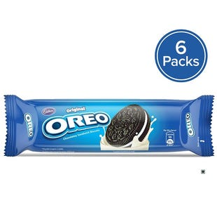 Oreo Vanilla Cream Biscuit 120g- Pack of 6