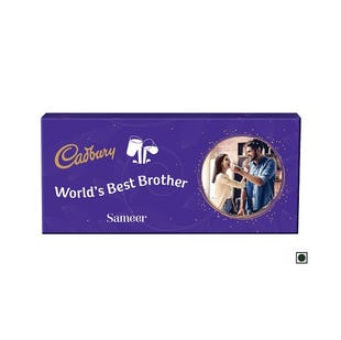 Personalised Chocolate Pack- For Brother