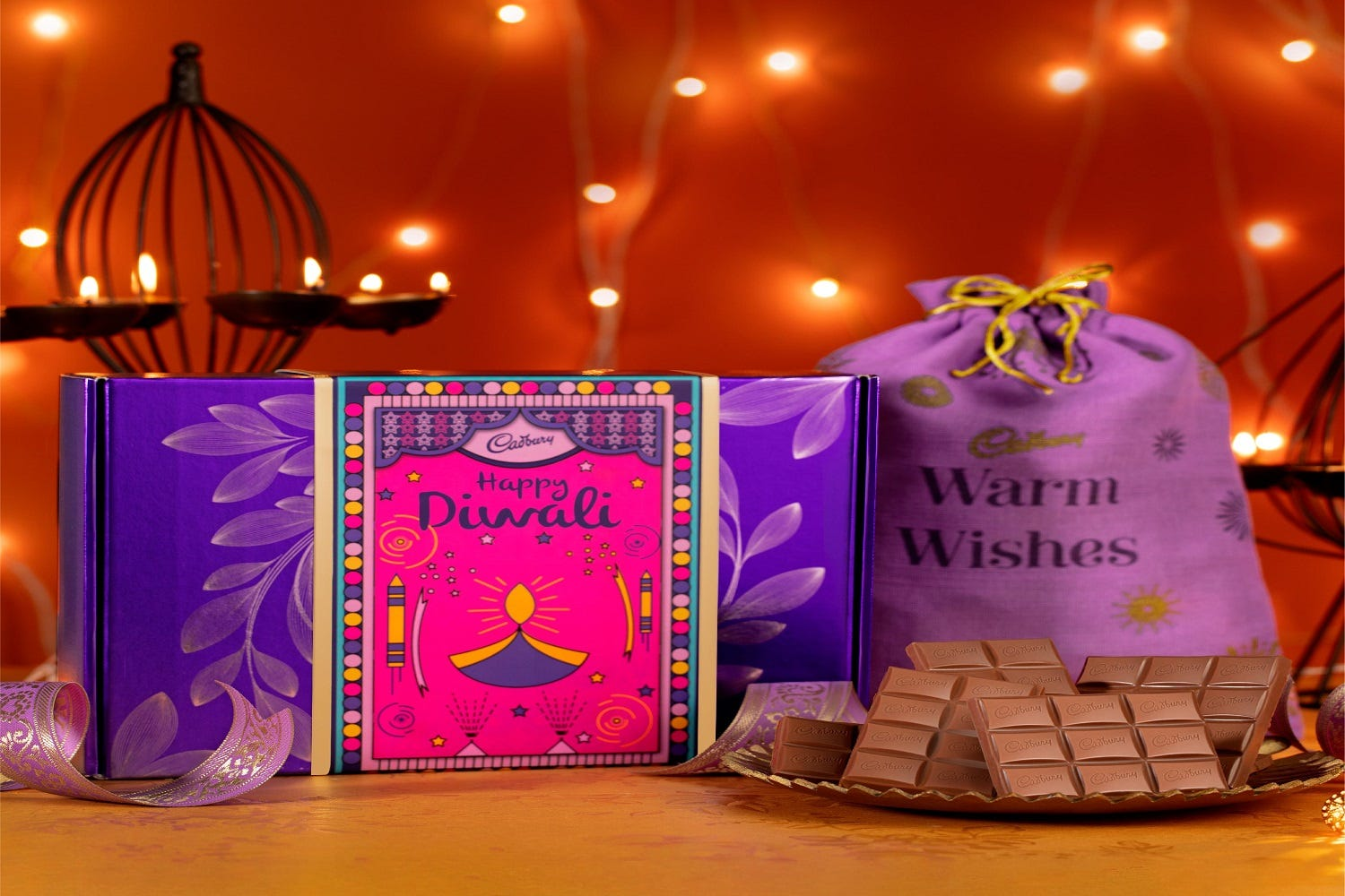 Diwali chocolate – Wishing one and all with sweetness galore