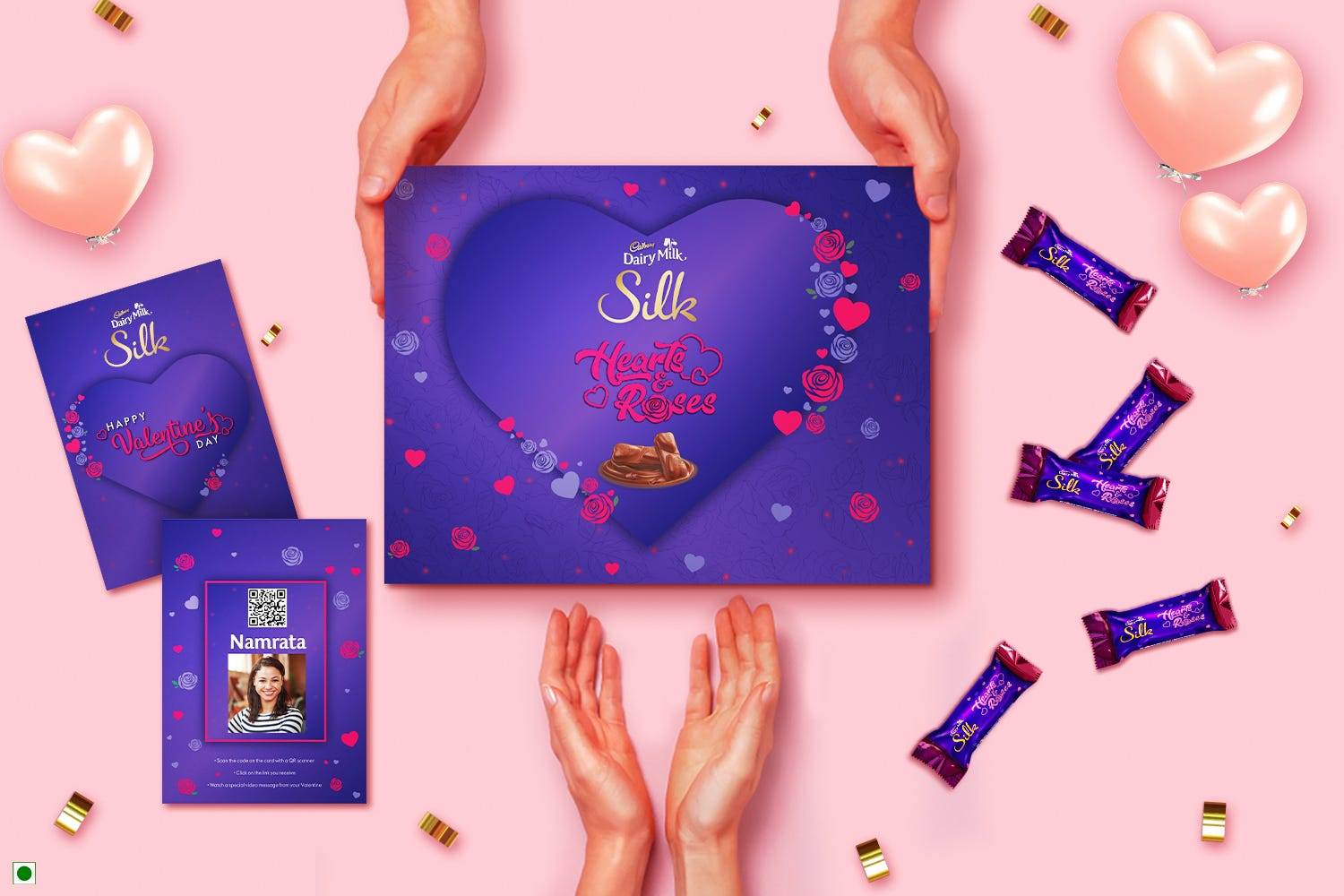 Cadbury Helps You Choose the Best Valentine's Day Gift for Your Girlfriend