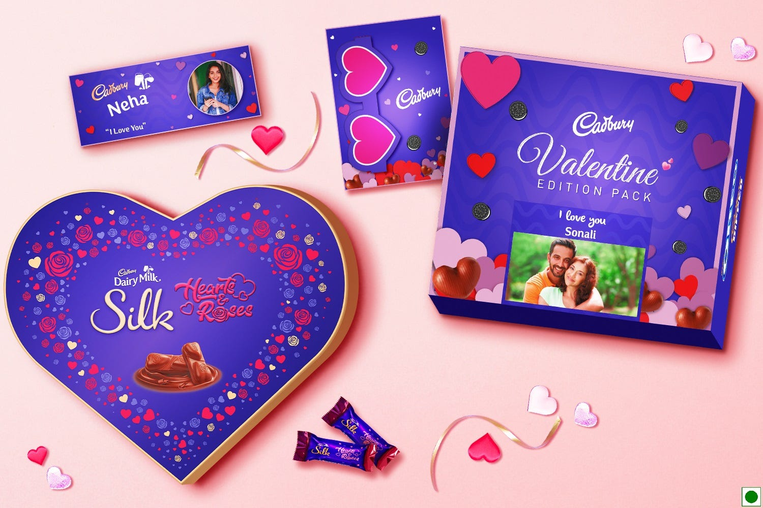 Chocolate Day gift ideas during Valentine's week from Cadbury Gifting